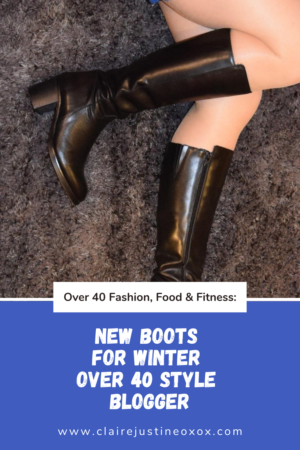 New Boots For Winter Over 40 Style Blogger