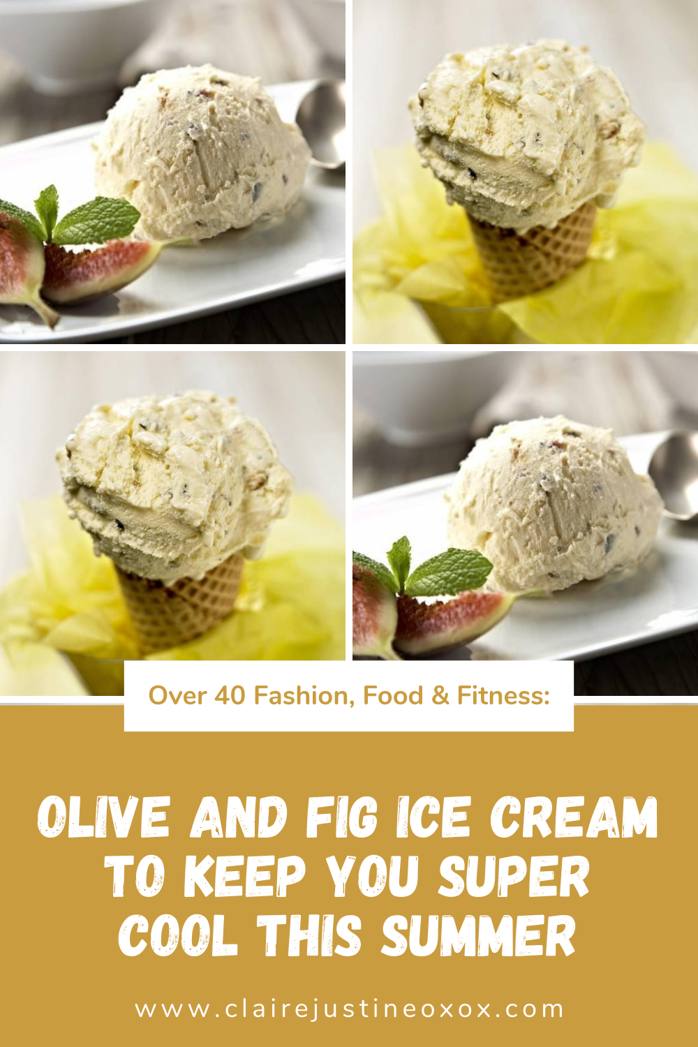 Olive And Fig Ice Cream To Keep You Super Cool This Summer.
