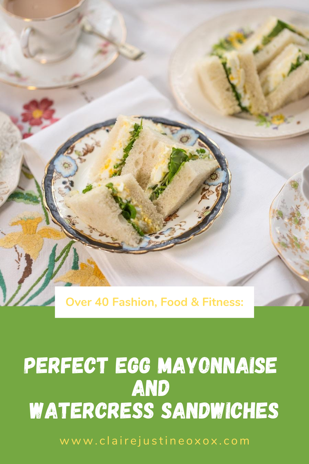 Perfect Egg Mayonnaise And Watercress Sandwiches