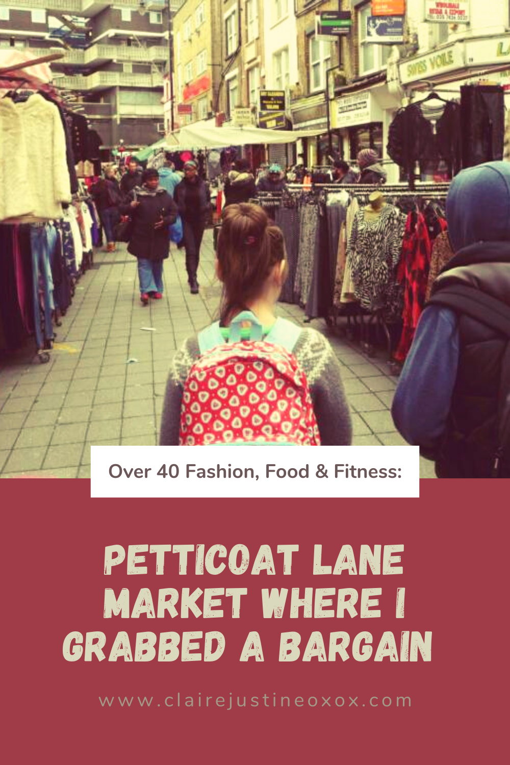 Petticoat Lane Market Where I Grabbed A Bargain