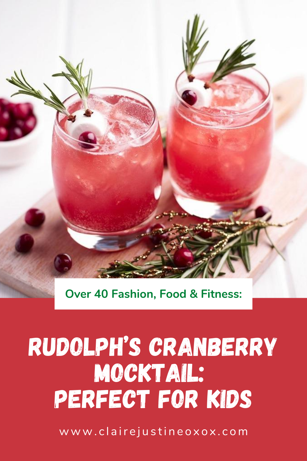 Rudolph's Cranberry Mocktail: How Amazing!?