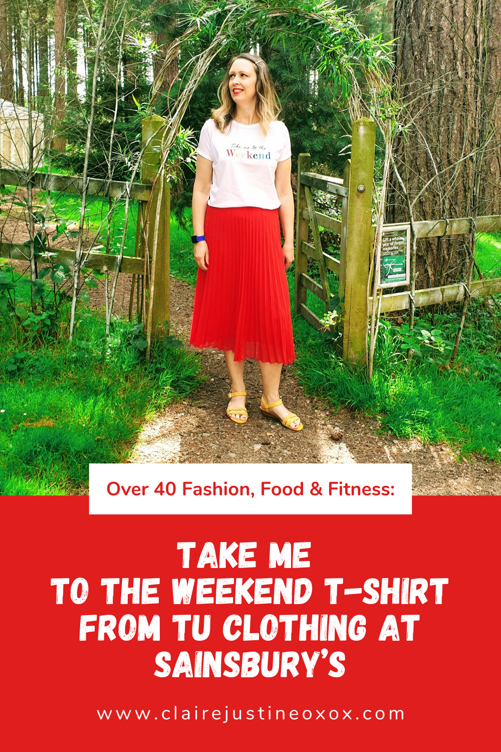 Take Me To The Weekend T-shirt From Tu Clothing