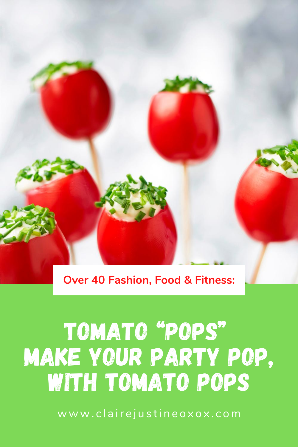 "Tomato ""Pops"" Make Your Party Pop, With Tomato Pops"