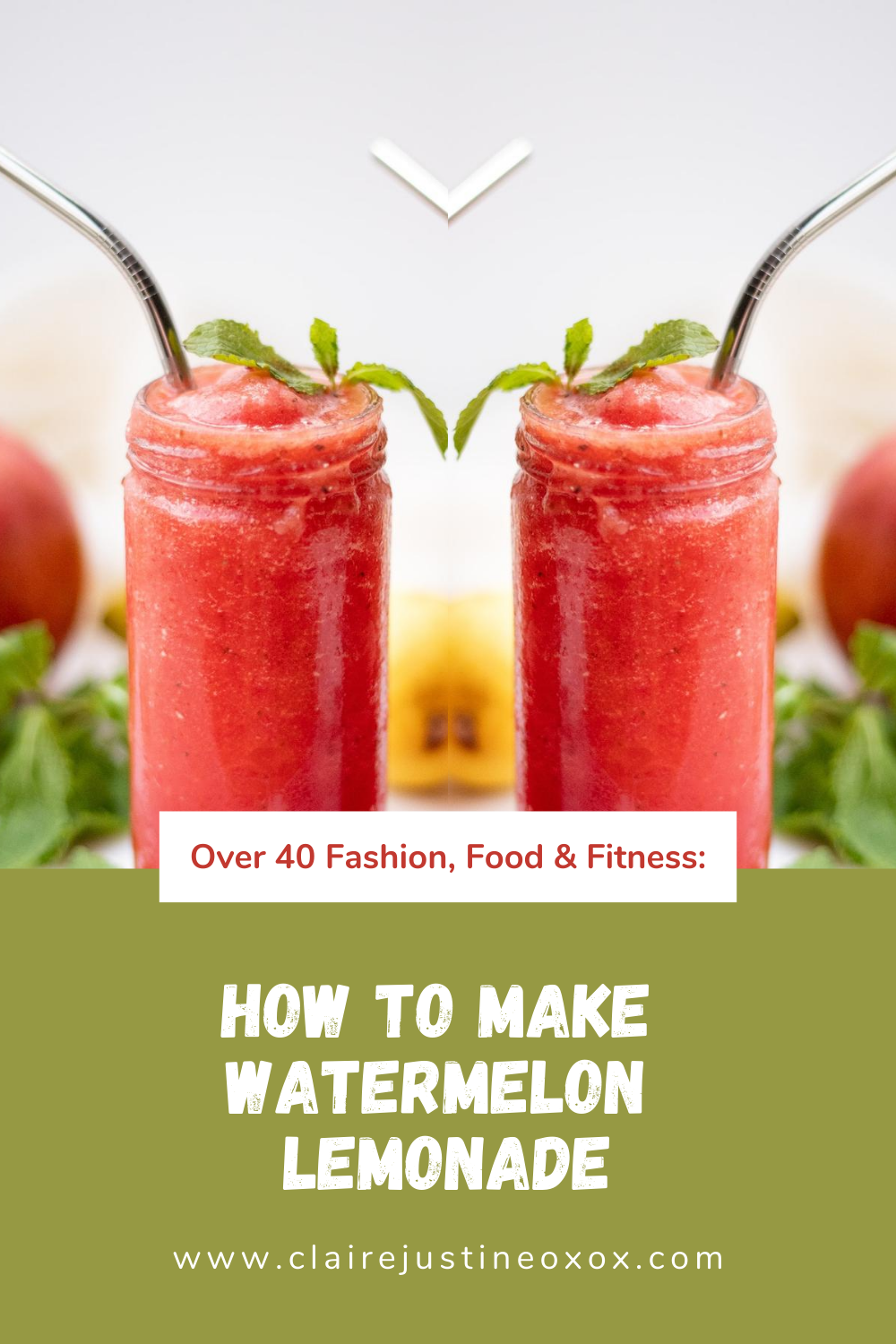 Watermelon Lemonade To Try Out This SpringSummer