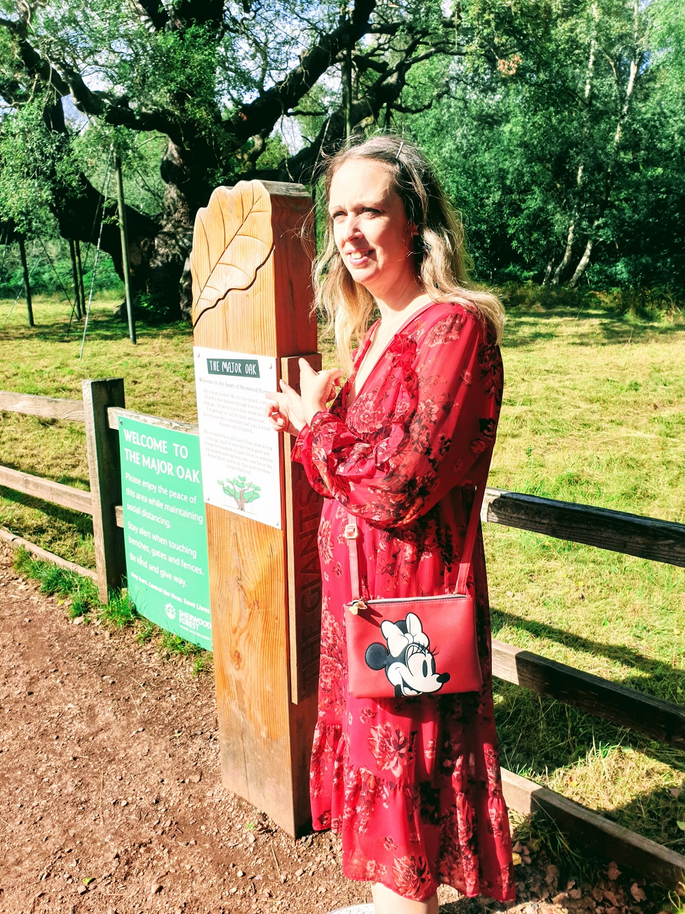 The Major Oak In Sherwood Forest & Fashion Over 40: