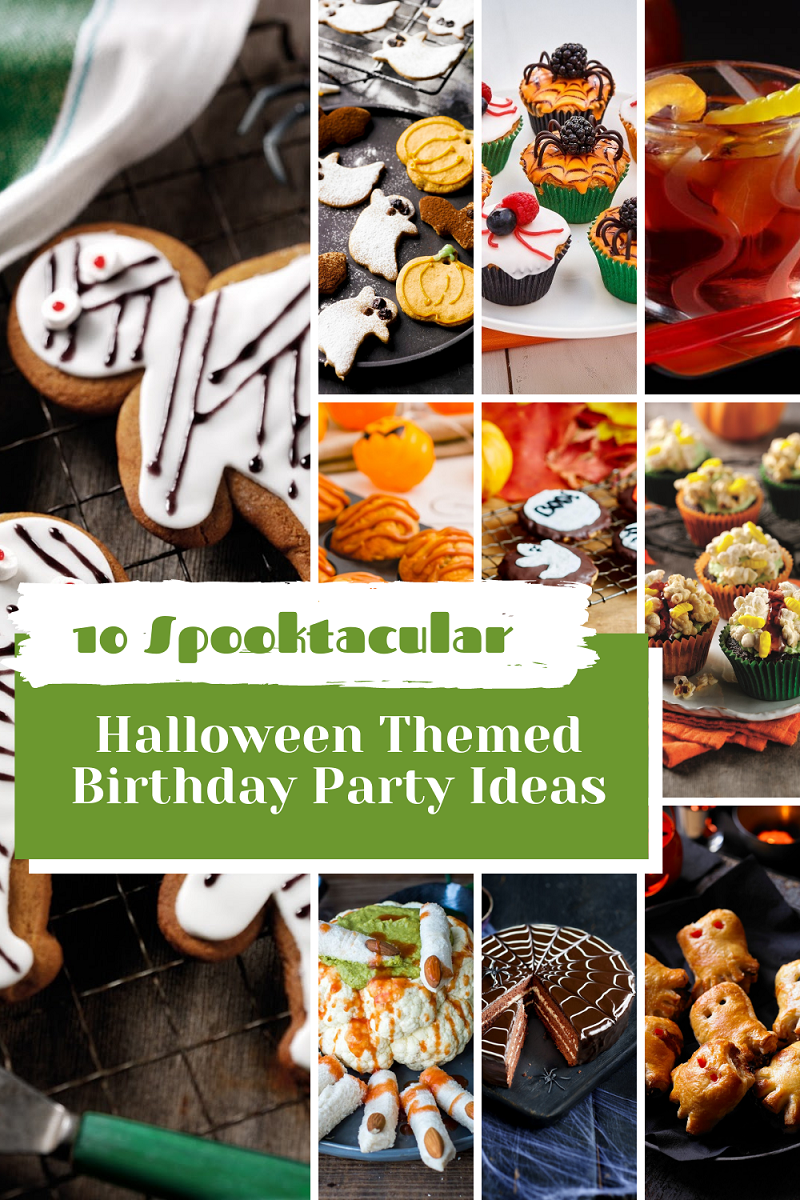 10 Spooktacular Halloween Themed Birthday Party Ideas