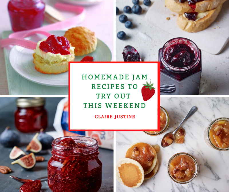 Homemade Jam Recipes To Try Out This Weekend
