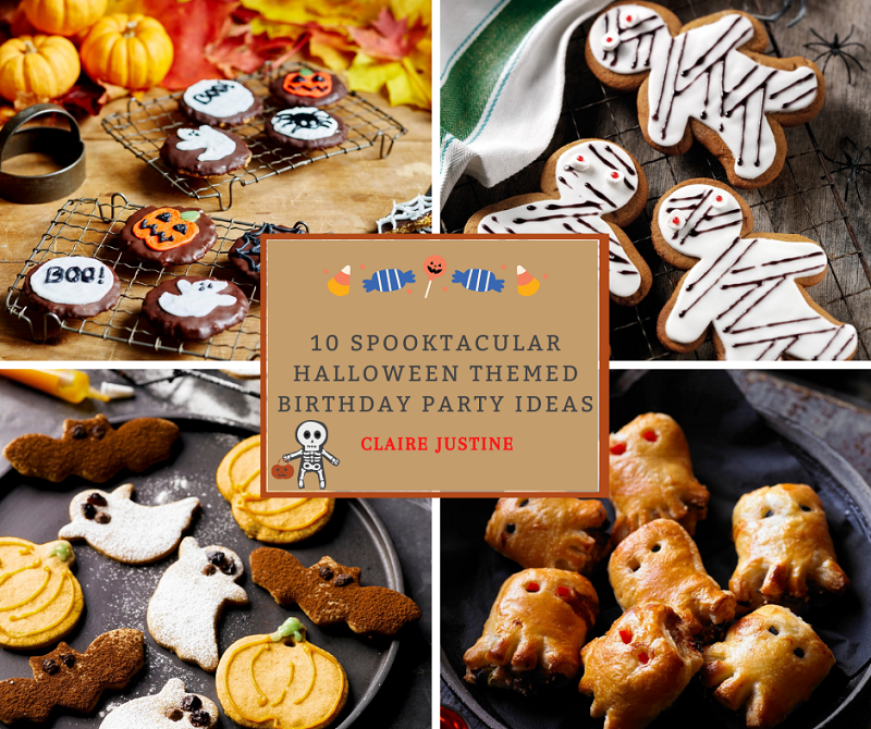 10 Spooktacular Halloween Themed Birthday Party Ideas.