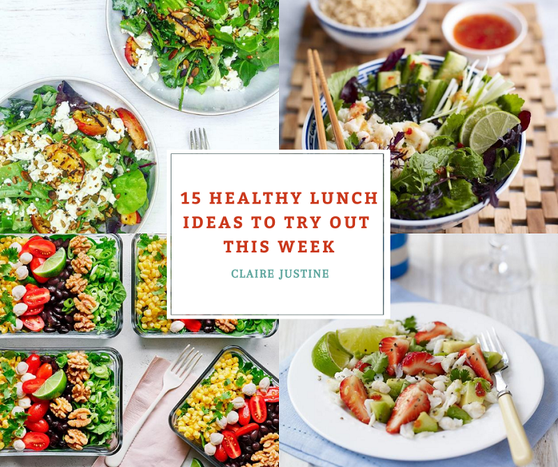15 Healthy Lunch Ideas To Try Out This Week