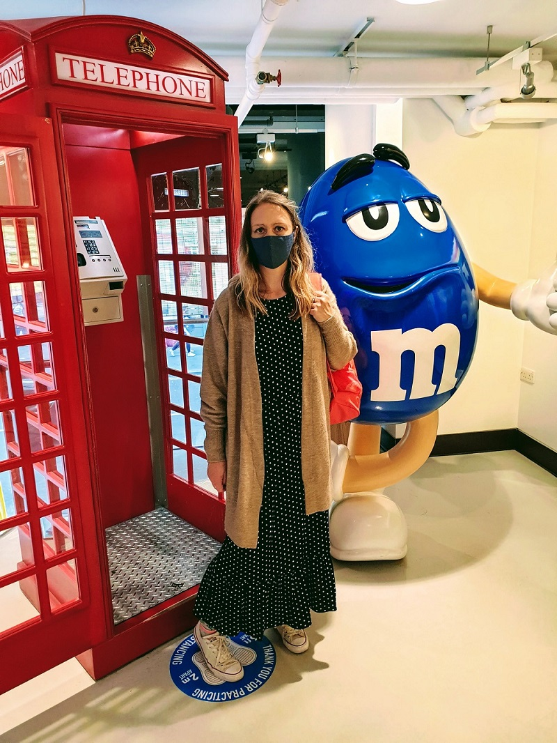 A Fun Visit To The M&M World Store In London