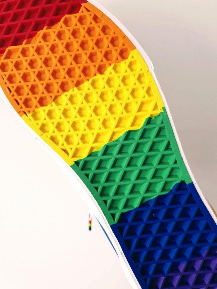 Rainbow Drip Old Skool Shoes Vans: Our Friday Feet