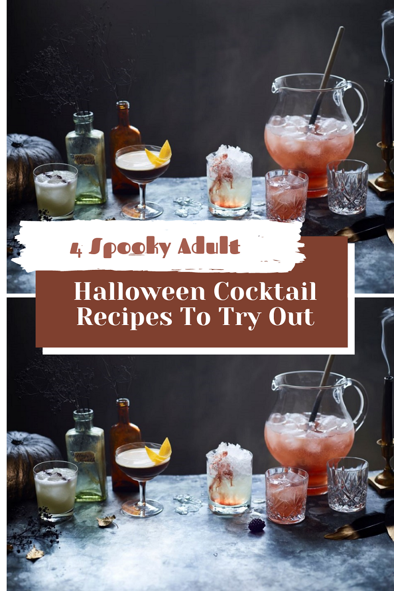 4 Spooky Adult Halloween Cocktail Recipes To Try Out