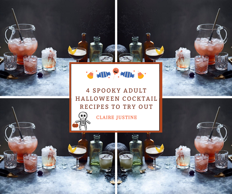4 Spooky Adult Halloween Cocktail Recipes To Try Out.