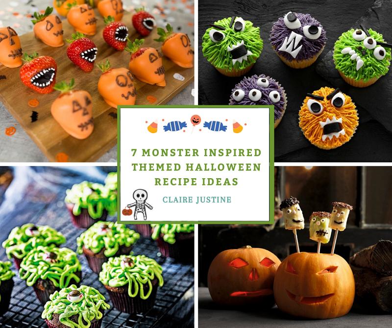 7 Monster Inspired Themed Halloween Recipe Ideas