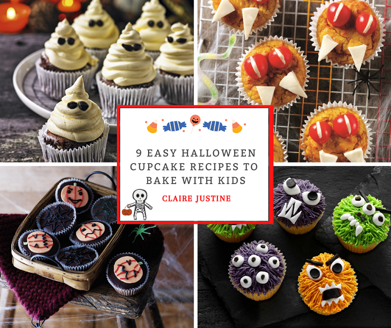 9 Easy Halloween Cupcake Recipes To Bake With Kids