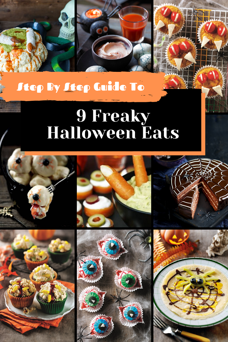 Step By Step Guide To 9 Freaky Halloween Eats