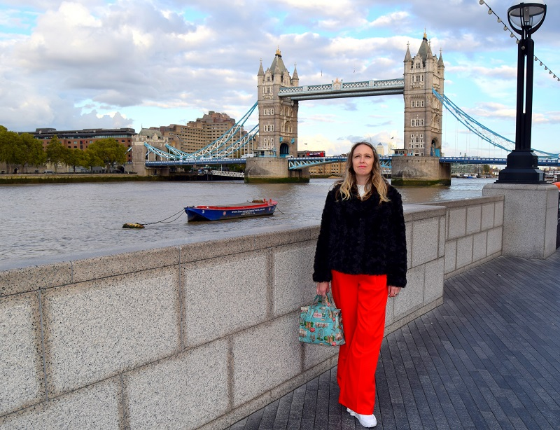 Bright Red Trousers And A Walk Around Tower Bridge London