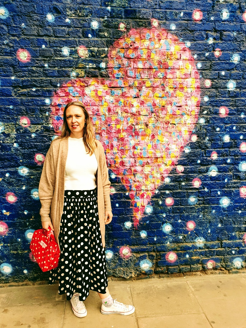 London Hearts, Polka Dot Dress And My Over 40 Style