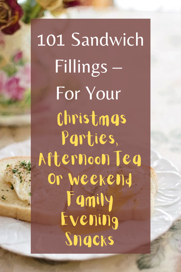 Christmas Parties, Afternoon Tea Or Weekend Family Evening Snacks.