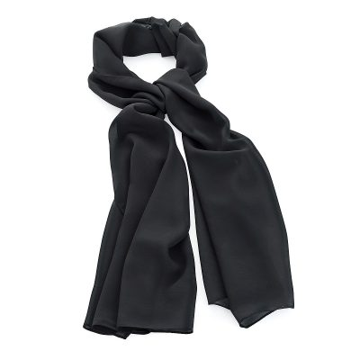 Black Colour Chiffon Style Scarf