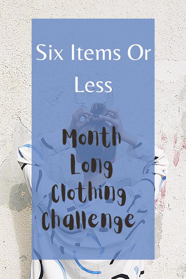 clothing challenge