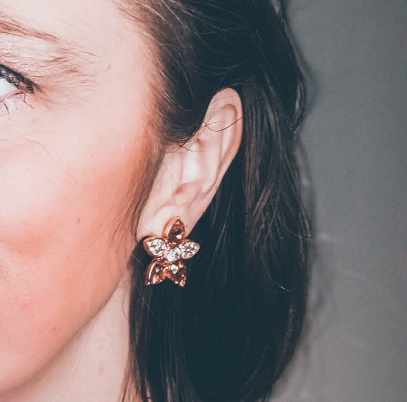 I Never Promised You Rose Gold Coloured Earrings!!