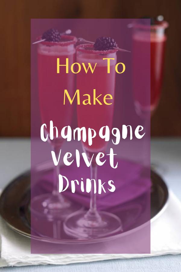 Velvet Drinks
