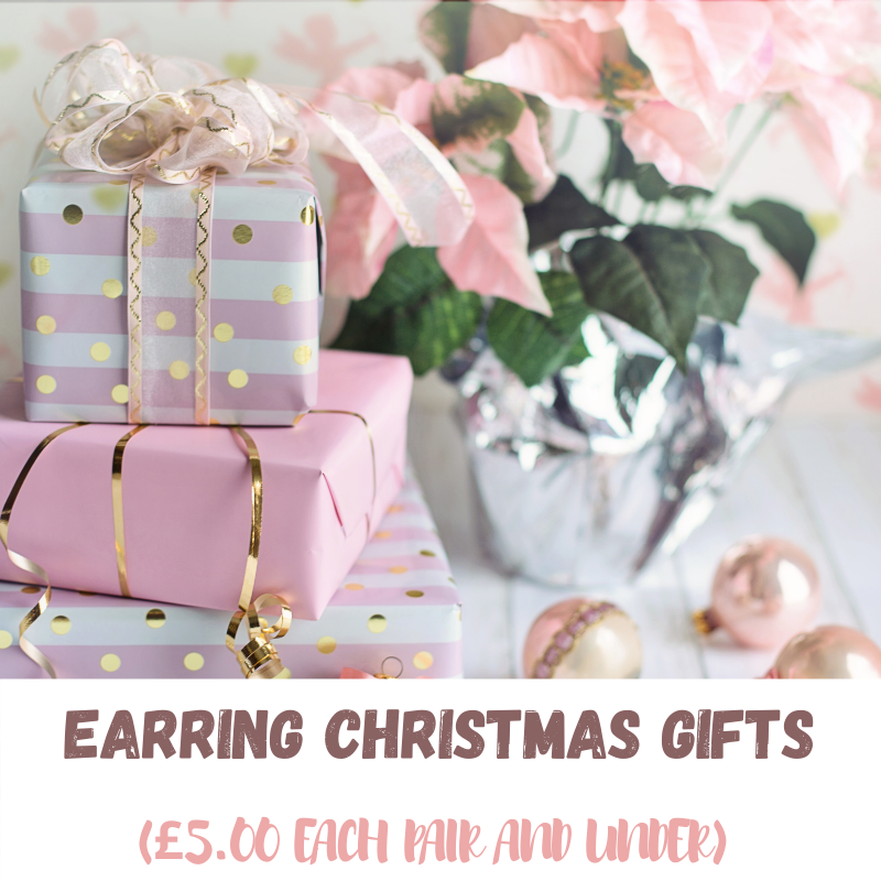 Earring Christmas Gifts (£5.00 Each Pair And Under)