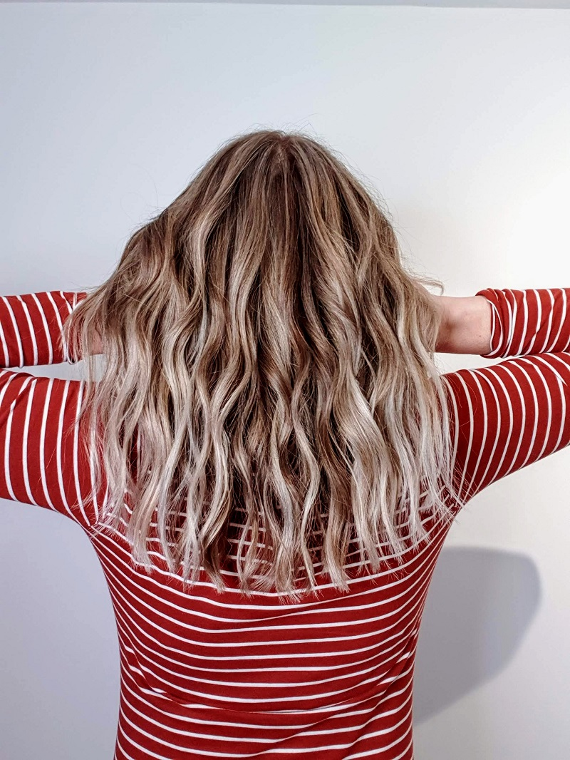 New Haircut, Colour And Beach Waves In My Hair