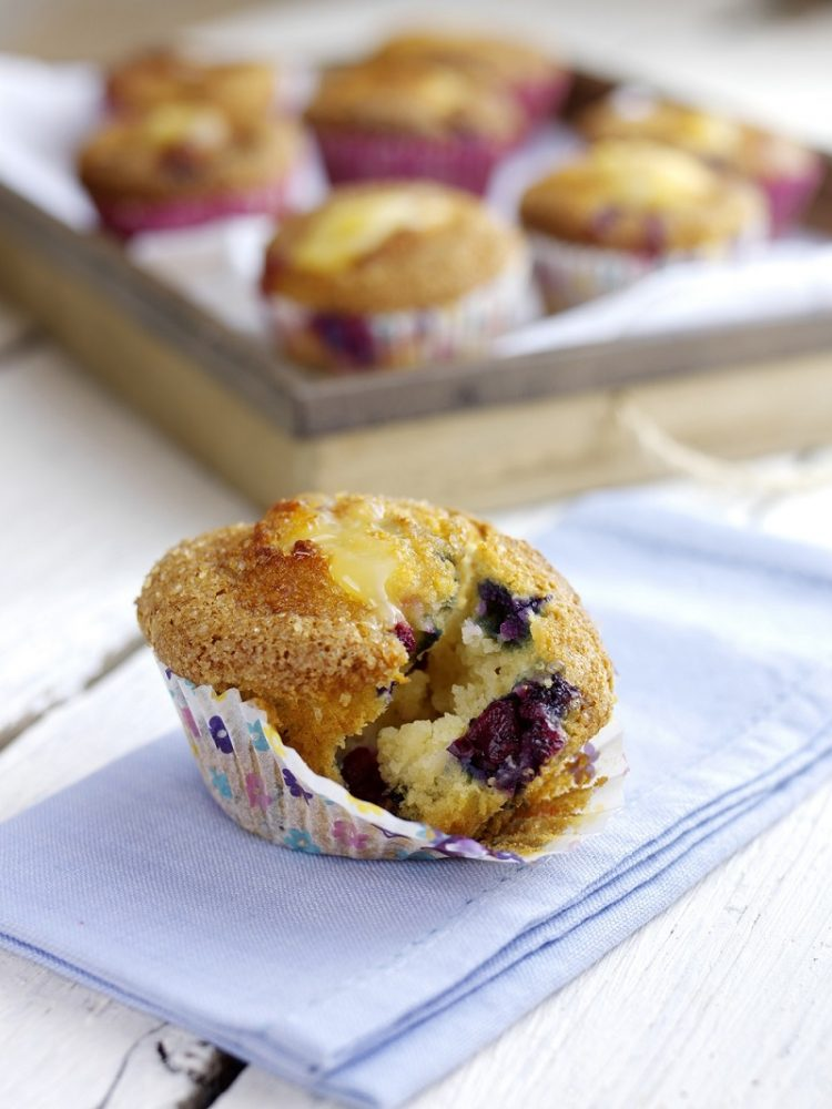 BerryWorld Blueberry And Lemon Curd Muffins: How To