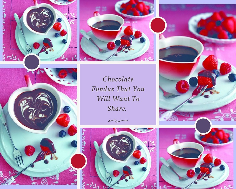 Chocolate Fondue That You Will Want To Share.