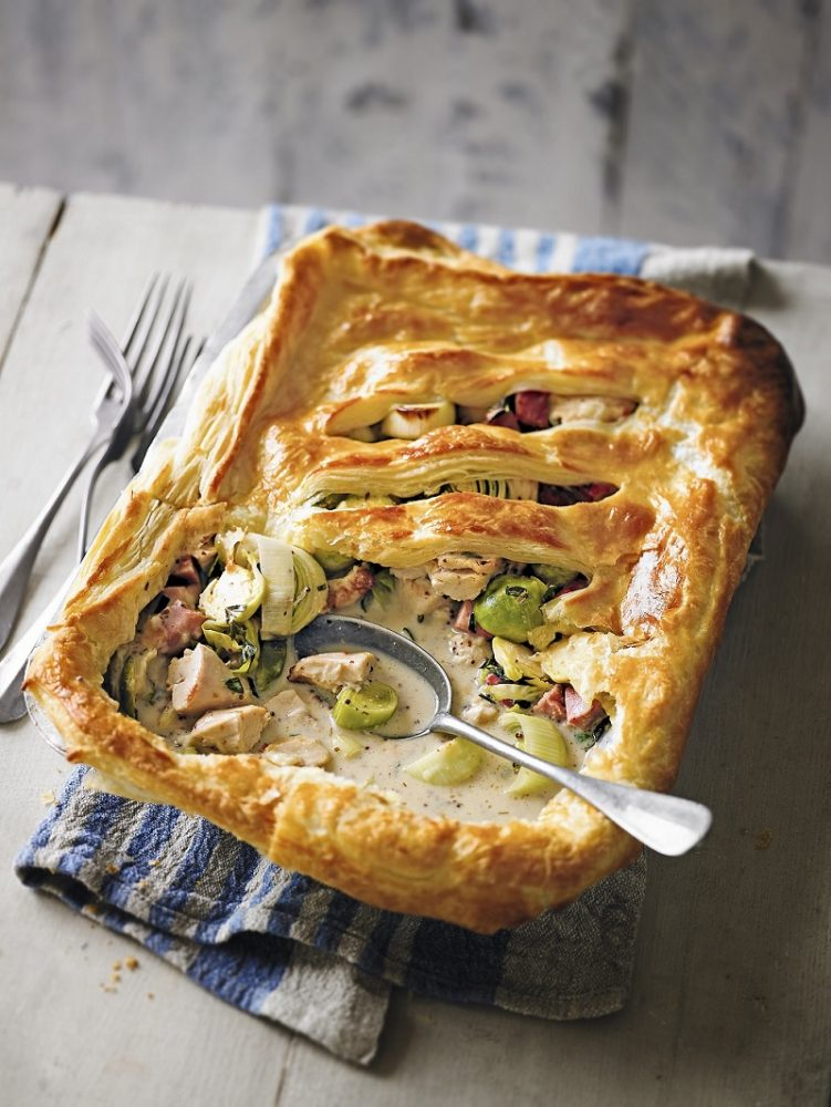 Turkey, Gammon And Sprout Pot Pie: A Perfect Recipe At