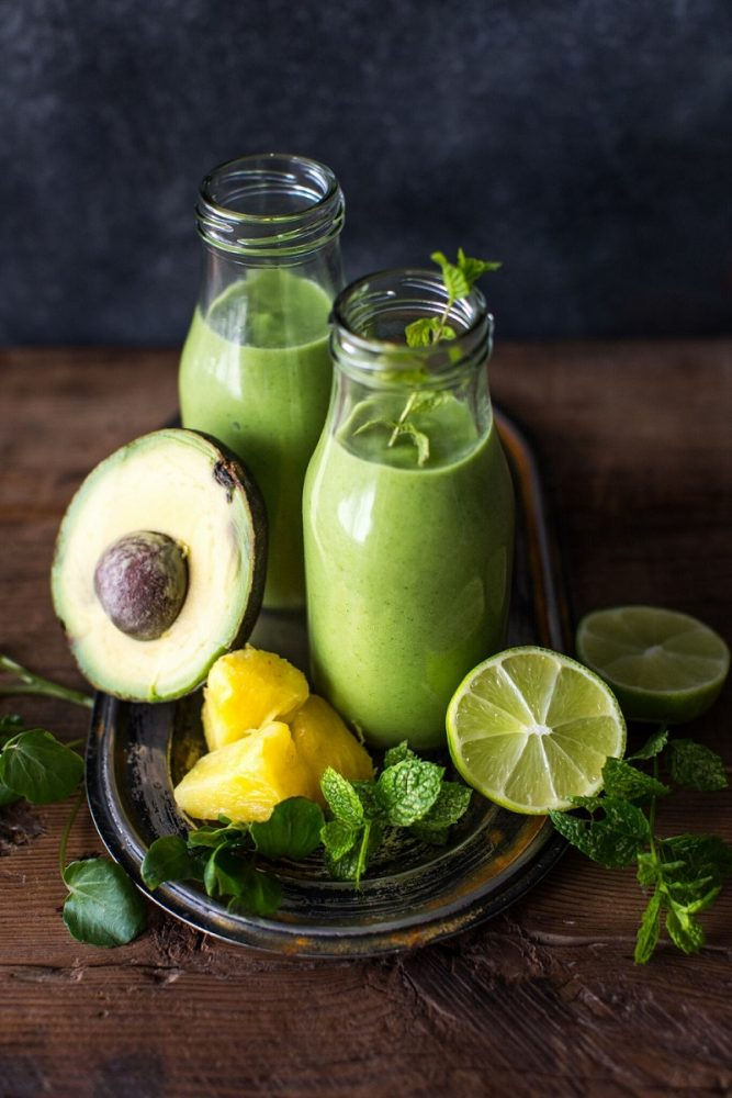 Watercress, Avocado And Lime Smoothie