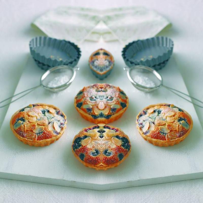 Blueberry Frangipane: How To Make These Moreish Tarts.