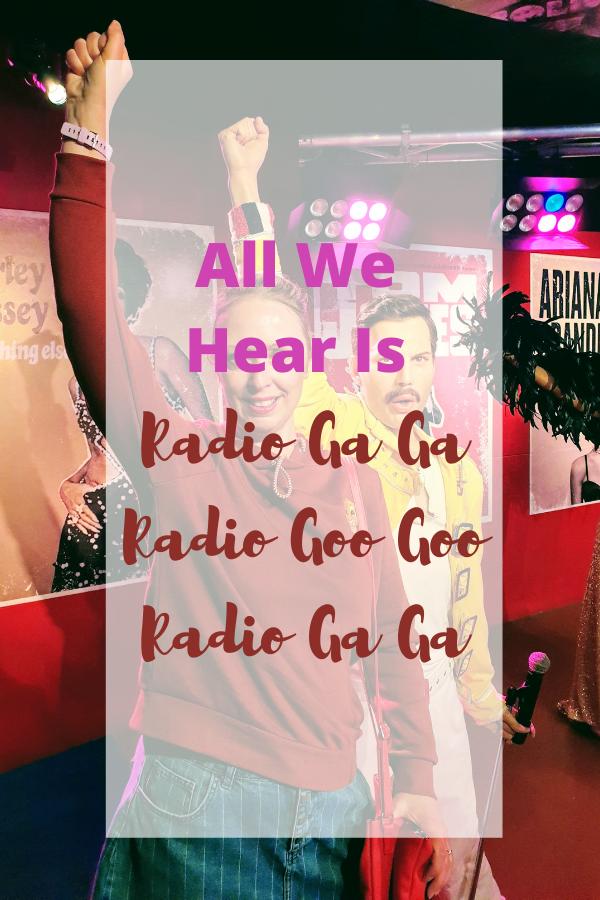 All We Hear Is Radio Ga Ga Radio Goo Goo Radio Ga Ga