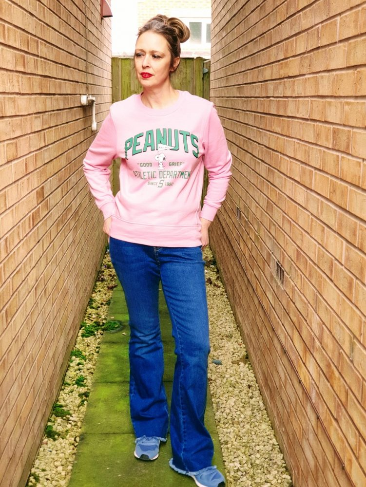Peanuts Snoopy Pink Sweatshirt And How I Styled