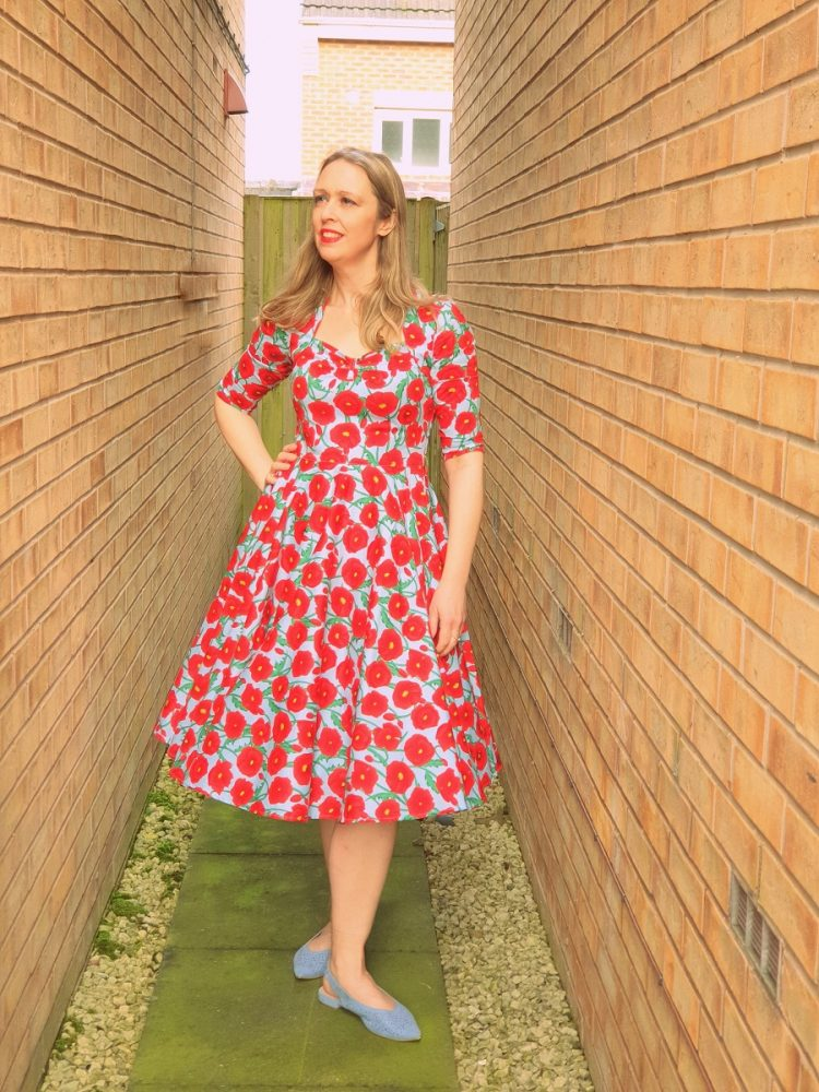 A Poppy Swing Dress That Never Goes Out Of Style.