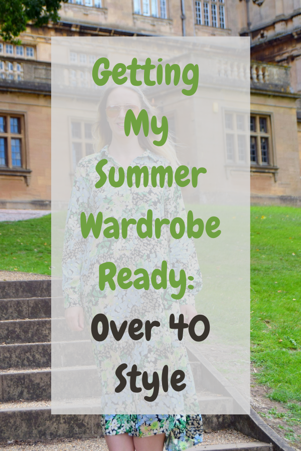 Getting My Summer Wardrobe Ready Over 40 Style