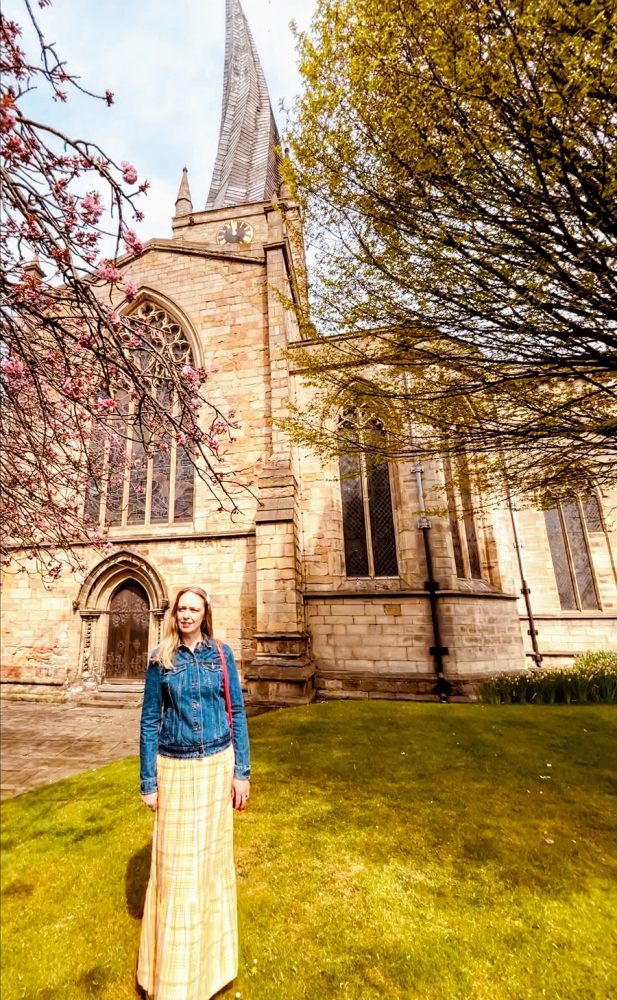 Chesterfield Crooked Spire In Springtime: Over 40 Style