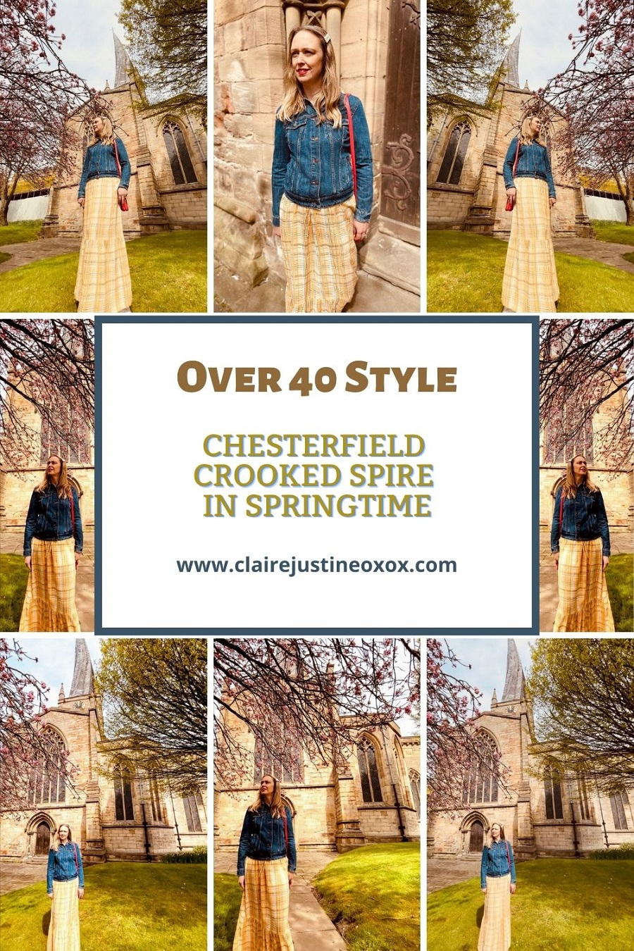 Chesterfield Crooked Spire In Springtime