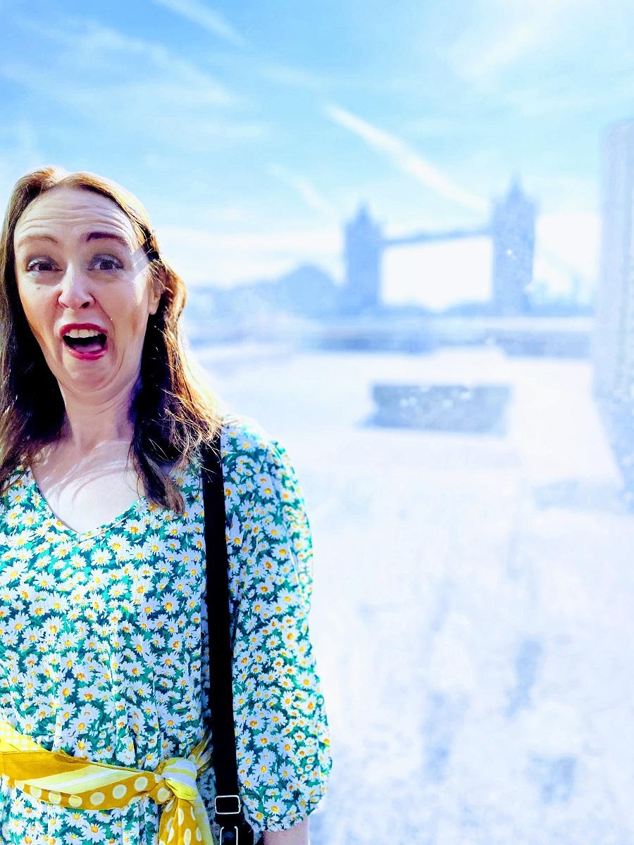 Fun In The Sun Near Tower Bridge