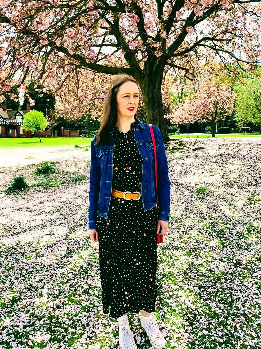 Denim jacket over 40 style