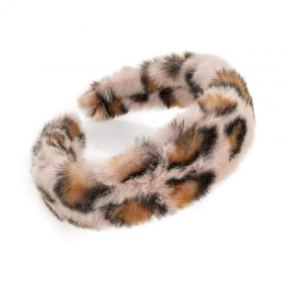 Pink Tone Animal Print Headband