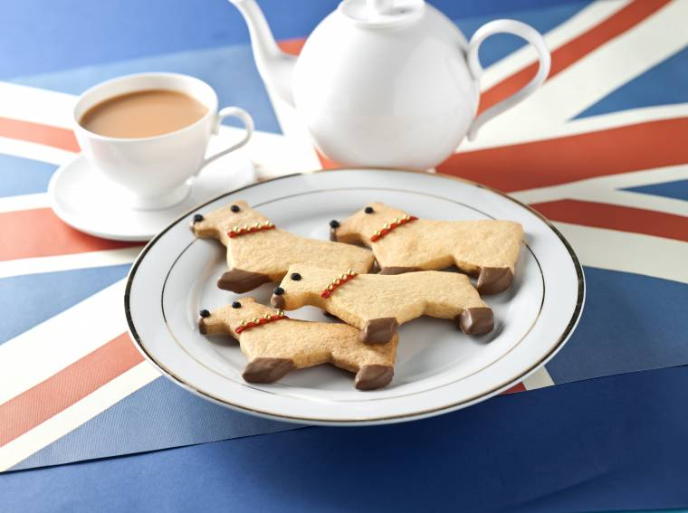 Corgi Biscuits for the Jubliee Celebrations