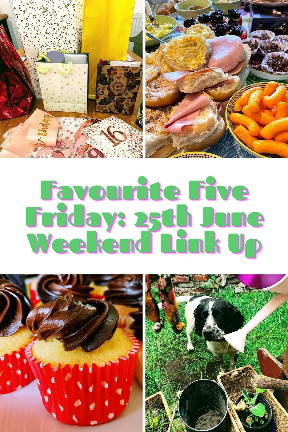Favourite Five Friday: 25th June Weekend Link Up