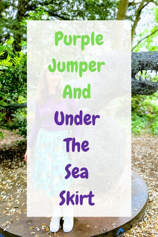 Purple Jumper And Under The Sea Skirt