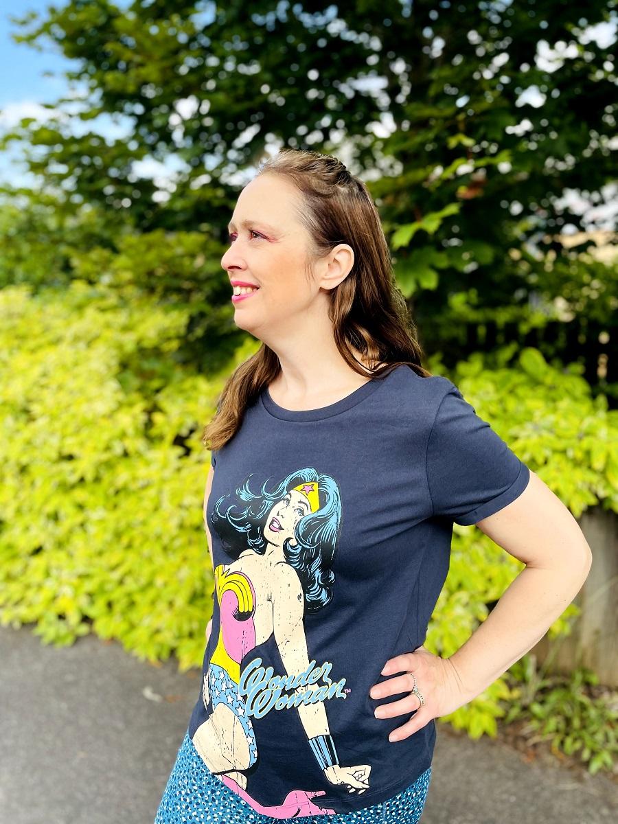 Superhero Shirt: Wonder Woman Was My Superhero