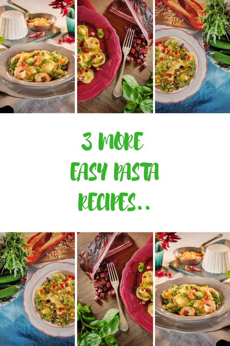 3 More Easy Pasta Recipes To Try Out For Dinner