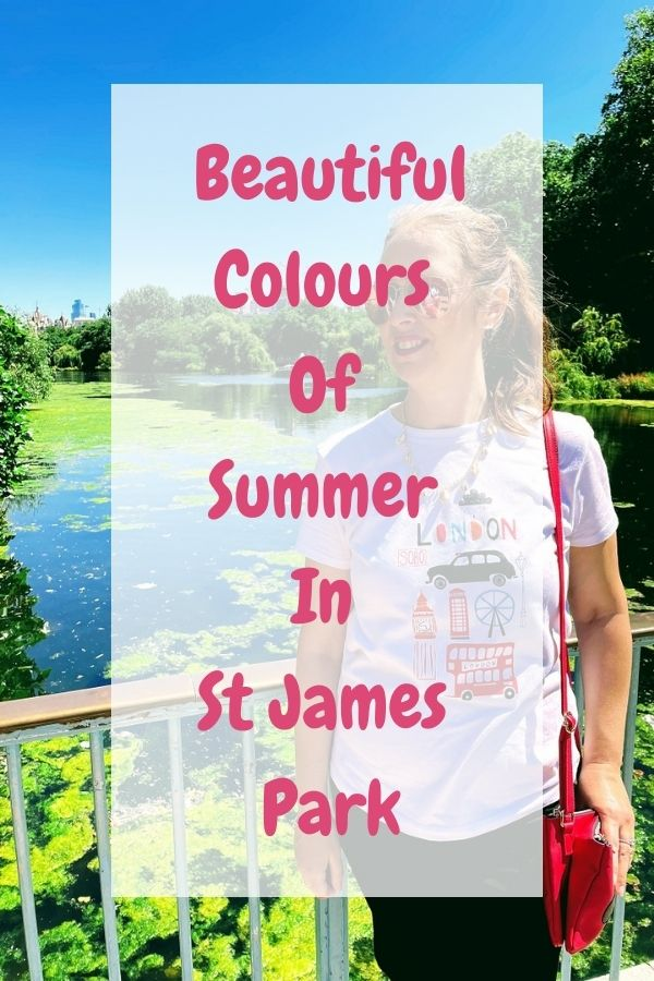 Beautiful Colours Of Summer In St James Park