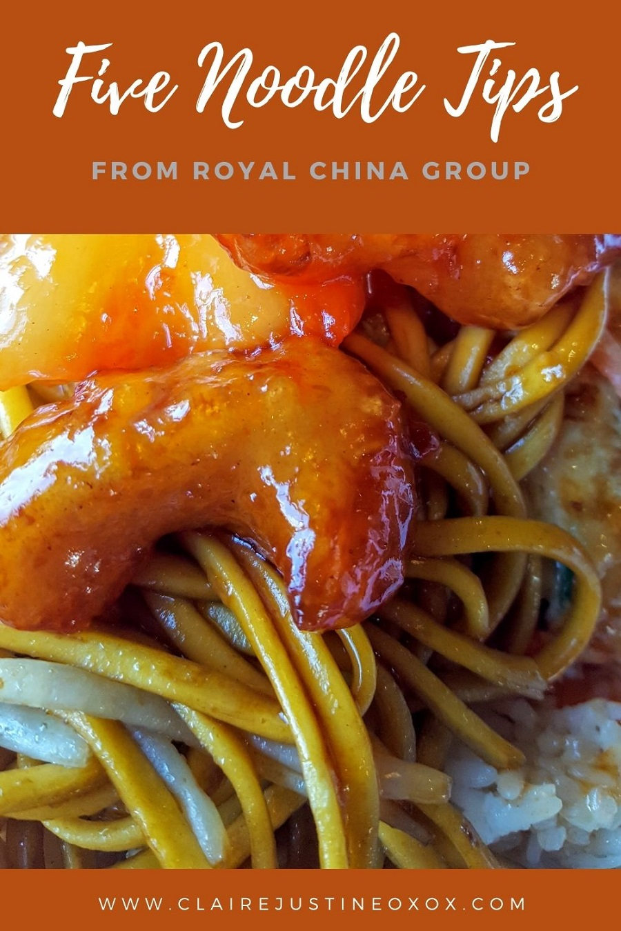 Five Noodle Tips From Royal China Group.